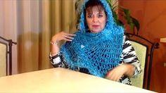 como tejer una bufanda con los dedos de la mano - YouTube
