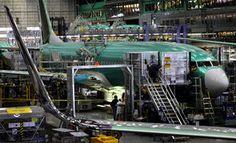 Boeing Renton 737 manufacturing facility.