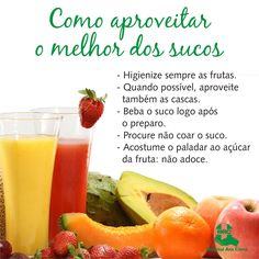 Sucos naturais são opções de bebidas saudáveis, que podem auxiliar em vários aspectos da saúde. Saiba como aproveitar ao máximo os benefícios desta bebida. #HAC #HospitalAnaCosta #Saúde #Alimentação #BemEstar #Sucos #Frutas #Fit #Nutrição #Nutri #Drink
