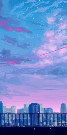 Lets go home cityscape bicycle ride sunset clouds art 10802160 wallpaper Wallpaper Pastel, Anime Scenery Wallpaper, Aesthetic Pastel Wallpaper, Kawaii Wallpaper, Aesthetic Backgrounds, Galaxy Wallpaper, Aesthetic Wallpapers, Sunset Wallpaper, Wallpaper Backgrounds