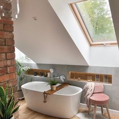 Loft Bathroom, Upstairs Bathrooms, Small Bathroom, Bathroom Cost, Bathroom Plumbing, Sloped Ceiling Bathroom, Bathroom Ideas, Loft Room, Beautiful Bathrooms