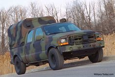 Ford F-350 crew cab diesel military edition