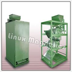 Double Drum Type Magnetic Separators are available for highest purity. The material passes through the magnet twice time drum separator and High power permanent Magnetic Plate