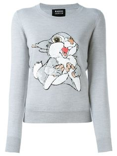 MARKUS LUPFER sequined rabbit jumper. #markuslupfer #cloth #jumper