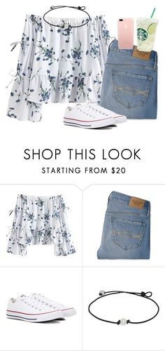 """""""Untitled #61"""" by ellienoonan ❤ liked on Polyvore featuring Abercrombie & Fitch and Converse"""