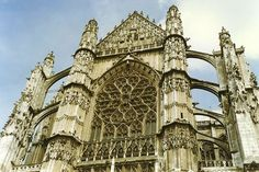 Cathedrale St Pierre - Beauvais, France - [1600 x 1066]