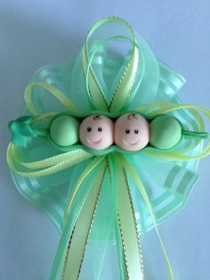 Peas in a Pod/ Baby Shower by MICHELLCUSTOMDESIGNS on Etsy