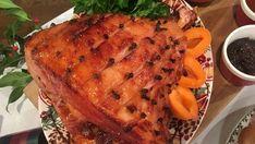 John Torode's baked glazed mustard and apricot ham