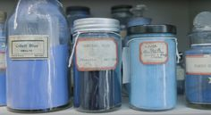 The color vault at Harvard's Straus Center, known as the Forbes Pigment Collection, is home to some of the world's rarest pigments. See the video produced by Great Big Story now on THE COLORIST