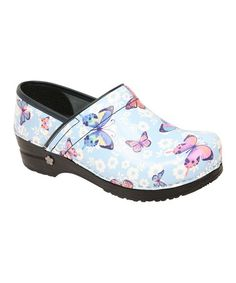 Take a look at this Ice Blue Love Song Professional Clog - Women by Sanita on #zulily today!