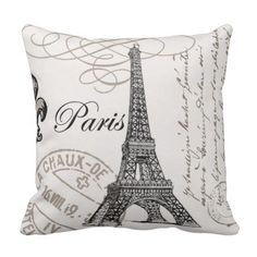 Cheap cushion cover, Buy Quality cushion cover pattern directly from China pattern cushion covers Suppliers: Cushion Cover Paris Tower Pattern Pillow Case Sofa Waist Vintage Throw Cushion Cover Home Decoration Pillow Cojines Sofa Vintage Paris, Retro Vintage, Vintage Designs, Decorative Pillow Cases, Throw Pillow Cases, Throw Cushions, Linen Pillows, Linen Sofa, Decor Pillows