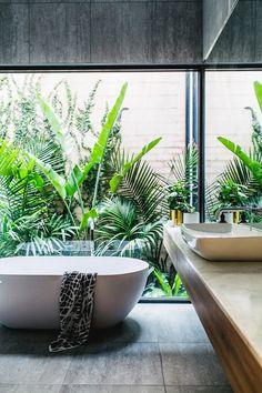 souhailbog:     Green Bathroom By Theultralinx