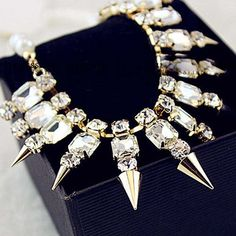 Hot Lady Fashion Jewelry Necklace Chain Statement Bib Chunky Collar Pendant in Jewelry & Watches, Fashion Jewelry, Necklaces & Pendants   eBay