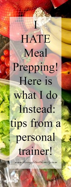 I hate meal prepping, so I do this instead! I hate meal prepping, so I do this instead! Healthy Food Choices, Healthy Eating Recipes, Healthy Smoothies, Healthy Foods, Healthy Fit, Meal Prep Plans, Diet Meal Plans, Food Prep, Meal Prep For Beginners