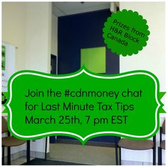 Last Minute Tax Tips 1024x1024 Last Minute Tax Tips for the #CDNMoney Chat