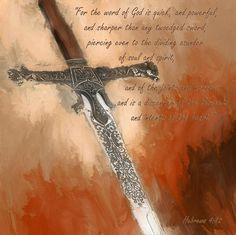 The Word of God Painting  - The Word of God Fine Art Print