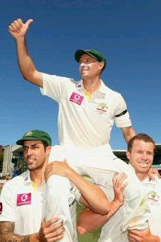 Mike #Hussey #cricket #Australia... attended school at Prendiville Catholic College Ocean Reef with my kids, Dave, Mike's younger brother, would walk my daughter home each afternoon carrying her books not a light task given how heavy year 12 books are