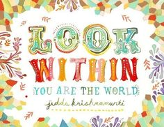 Look Within by thewheatfield on Etsy, $18.00
