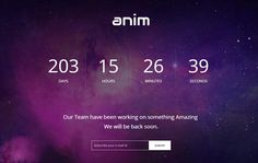 coming soon free web template