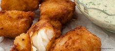 Dutch Recipes, Fish Recipes, Healthy Recipes, Fish And Chips, Air Fryer Recipes, Feta, Baked Potato, Cauliflower, Food And Drink