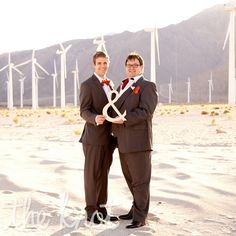 A Modern Gay Wedding in Palm Springs, CA