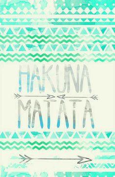 Os seus problemas você deve esquecer... Isso é viver, é aprender... Hakuna Matata