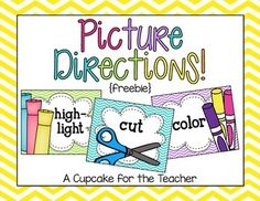 picture directions {freebie}