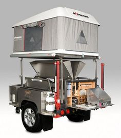 CAMPA USA manufactures all terrain trailers and camping trailers for outdoor enthusiasts and disaster response personnel. Jeep Camping Trailer, Off Road Camper Trailer, Trailer Tent, Trailer Plans, Trailer Storage, Small Trailer, Food Trailer, Utility Trailer, Weekend Camping Trip