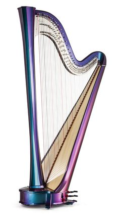 Pop, jazz, classical: The Rainbow is Salvi's answer for an extremely versatile pedal harp. In fact, it can be played as either an acoustic or electroacoustic harp, offering the faithful reproduction of all the richness of sound Salvi is known… Read Jazz, Music Notes Art, Mandolin, Sound Of Music, Music Stuff, Acoustic, Musicals, Indie Music, Music Music