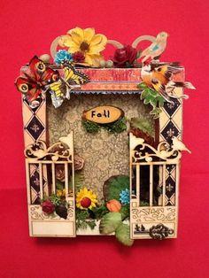 Fall Shadow Box