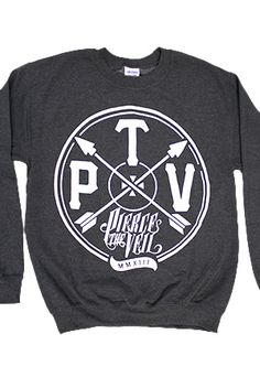 Arrows Sweatshirt from The only official Pierce The Veil Merch Store. T-shirts, Sweatshirts, Hoodies, Bracelets, Stickers, Buttons and more!