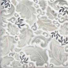 "MacMillan Amies Studio--""William More or Less"" tile in london gray"