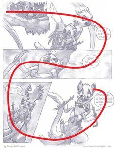 Comic panel layout tutorial
