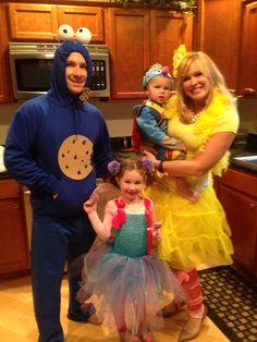 Sesame Street costumes!