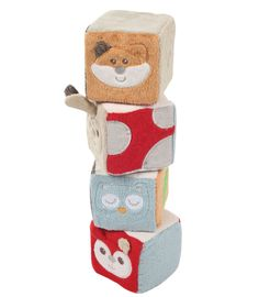 Buy your Kiddicare Woodland Activity Block from Kiddicare Soft Toys | Online baby shop | Nursery Equipment