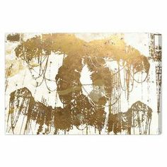 Hand-stretched canvas print with a Coco Chanel motif. Made in the USA.   Product: Canvas printConstruction Material: Gallery-wrapped canvas and woodFeatures: Ready to hang Cleaning and Care: Dust lightly