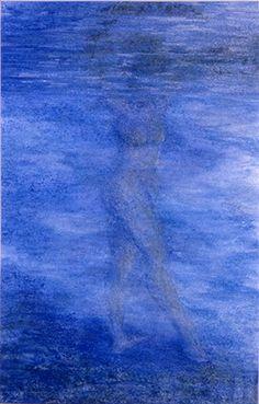 """Waterlover"" - pastel Elvira van Bochove www.elviravanbochove,nl"