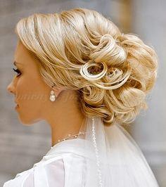 chignon wedding hairstyles, low bun wedding hairstyles - chignon wedding hairstyle