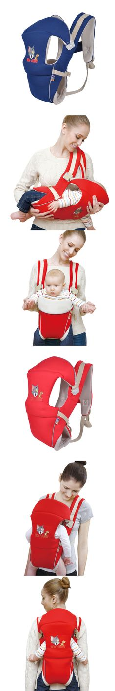 Bebear 0-24 Months Ergonomic Baby Carrier Front Facing Horizontal Back Carry Baby Sling Backpack Breathable Baby Kangaroo Wrap