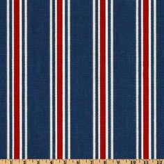 Carter's cornice? Fabric.com - Premier Prints Trey Stripe Blue/Red $6.36