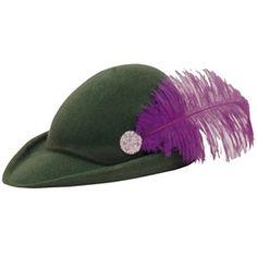 Sombrero de Robin Hood #accesorios #disfraces #medievales #hombres #fiestas $3.05