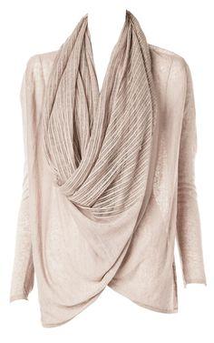 alice + olivia wrap sweater