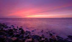 https://flic.kr/p/Fsm1JY | Magical sunset | Een werkelijk magische zonsondergang bij het IJsselmeer bij de Ketelbrug. Moest voor mijn werk naar Nieuwegein die dag en op de terugweg dit cadeautje van Moeder Natuur... Genieten met een grote G!  A magical sunset at the IJsselmeer near the Ketelbrug. Enjoy!  Thanks to everyone who takes the time to comment and/or fave.  Fuji X-E2 + Fujinon 10-24mm at 10mm, f/16, 8 sec. exposure at ISO 200, Lee ND 0.9 filter and 0.6 hard grade.  © Koos de Wit…