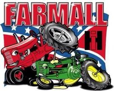 IH Rules Truck And Tractor Pull, Red Tractor, Tractor Mower, Case Tractors, Farmall Tractors, International Tractors, International Harvester, Tractor Bedroom, Farm Humor