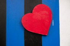 Heart on a wall by Terry Richardson