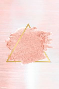 Pastel pink paint with a gold triangle frame on a pastel pink background vector . Pink And White Background, Glitter Background, Wood Background, Vector Background, Rose Gold Wallpaper, Cute Wallpaper Backgrounds, Wallpapers Rosa, Art Graphique, Background Patterns