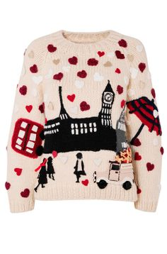 """woolandthegang: """" The Christmas jumper by Burberry supports Save the Childrens 2013 Christmas Jumper Day campaign. Save the Children has taken its annual Christmas Jumper Day to a new fashion high. Christmas Jumper Day, Knitted Christmas Jumpers, Christmas Knitting, Christmas Sweaters, Xmas Jumpers, London Christmas, Christmas Outfits, Merry Christmas, Burberry"""