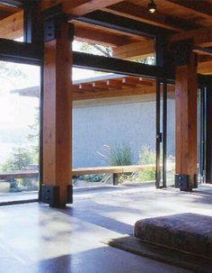 Image result for steel column interior