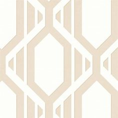 Beige Geometric Stripe   Scrubbable, Good Lightfast, Pre-Pasted