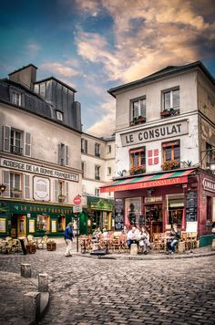 Paris - this place is wonderful to just seat and be spectators - I miss that in usa!